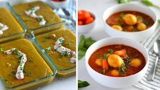 3 Vegan Instant Pot Soups (Meal Prep + Gluten Free)