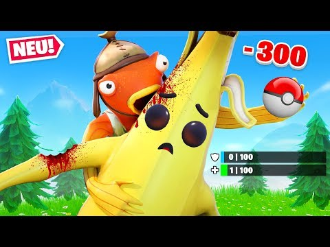 DUMMER FORTY vs BANANE in Fortnite Pokemon!