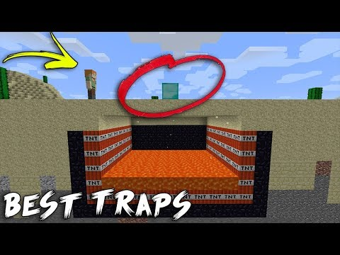 Best INVISIBLE Traps & Bases in Minecraft - Compilation