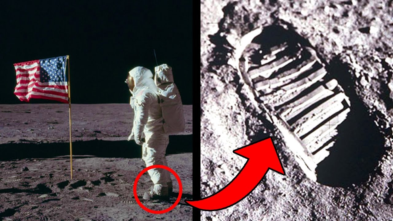 quality design 94dcc ebd07 The Steps On The Moon Don't Match Neil Armstrong's Spacesuit Boots?