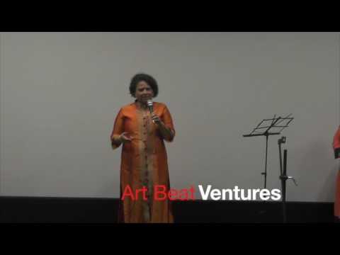 Actress Savita Malpekar at Singing auditions organised by Art Beat Ventures