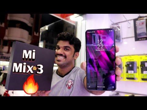Hindi | Xiaomi Mi Mix 3 Unboxing. 128GB Available In Dubai. Amazing Price