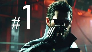 Deus Ex: Mankind Divided - Walkthrough Gameplay Part 1 [PlayStation 4]