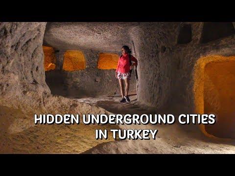 The underground cities of Cappadocia, Turkey