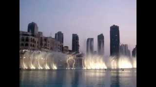 Dubai Dancing Fountain -Sama Dubai (Arabic Song)