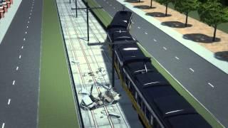 LA train crash: Car collides with light rail train in Los Angeles injuring 21