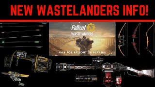 Fallout 76 Wastelanders Data-mined Pics! New Power Armor, Weapons, and Arrow Types!!!