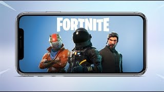 Baixar Fortnite: Battle Royale - Mobile iOS Gameplay!