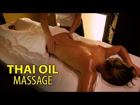 Thai Oil Massage Step by Step with a Thai Lady - Spa Tips