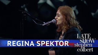 Regina Spektor Performs 'Samson'