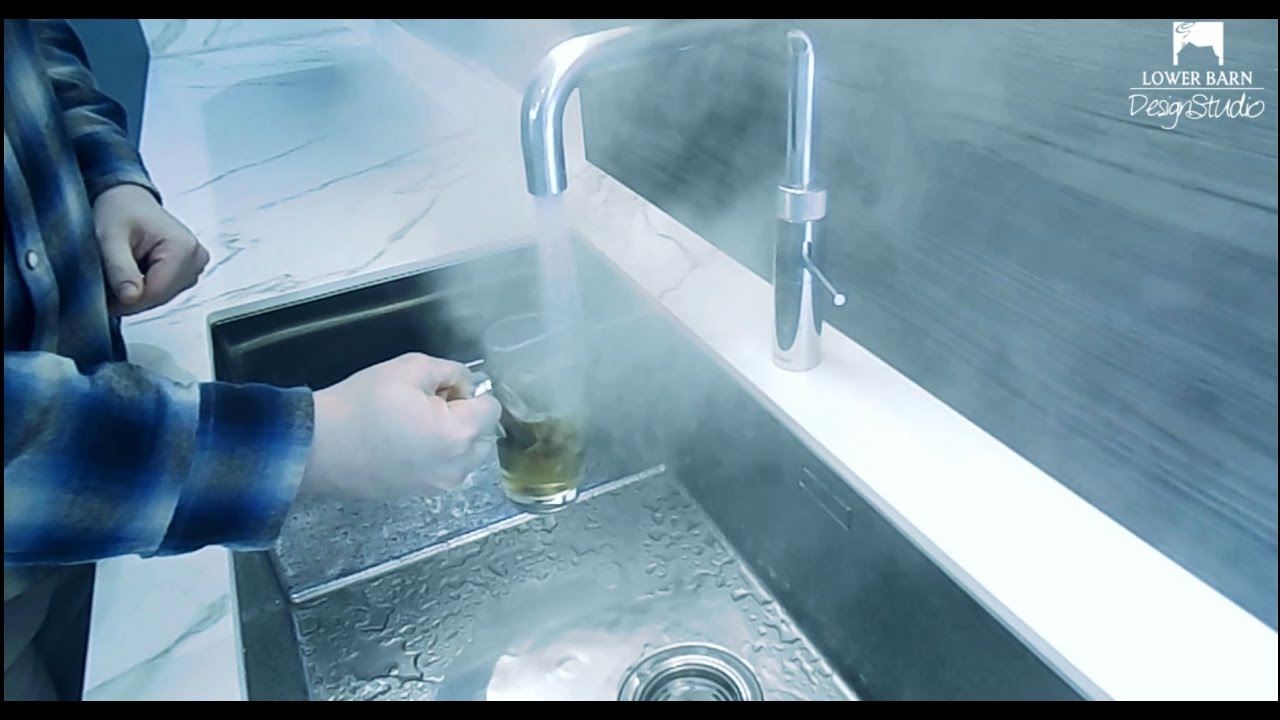 Quooker Fusion True Boiling Water Hot Tap Demonstration - Lower Barn ...
