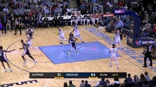 3rd Quarter, One Box Video: Memphis Grizzlies vs. LA Clippers