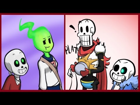Sans hates Papyrus?【Undertale Animation】Undertale Comic dubs Compilation