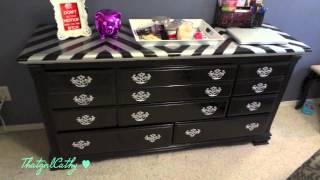 Dresser Glamover {chevron Print}