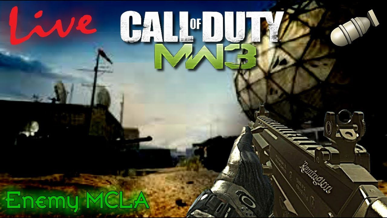 MW3 PS3 `LIVE` - I Joined Sense! | RTC #1 (3 MOABs this Stream)
