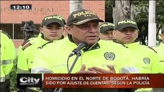 Citytv: Homicidio en el norte de Bogotá, habría sido por ajuste de cuentas