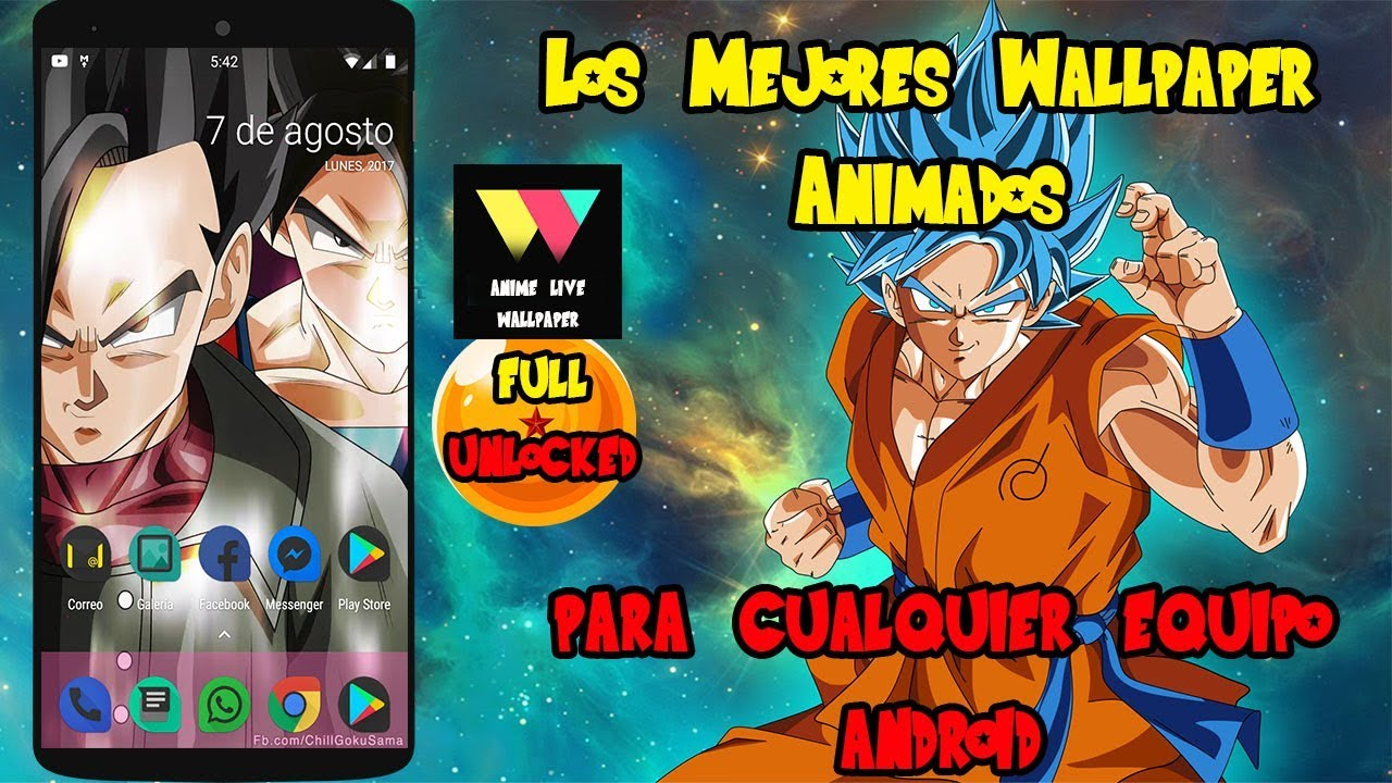 Live Wallpapers De Dragon Ball Super Para Cualquier Equipo Android 2017 Full Unlocked