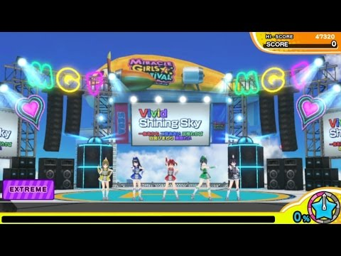 Miracle Girls Festival - Vivid Shining Sky (EXTREME) Playthrough [PS TV]