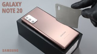 Samsung Galaxy Note 20 UNBOXING [4K]