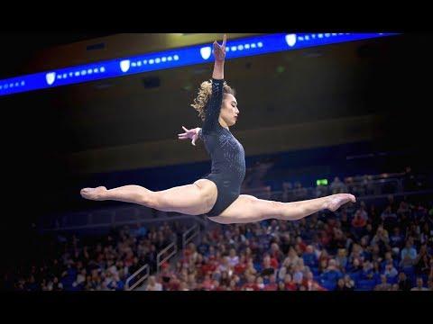 После выполнения сальто - на шпагат: американская гимнастка Кейтлин Охаши взорвала интернет