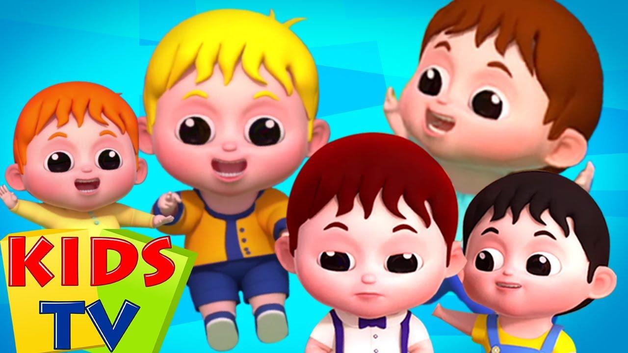 ทารกน้อยห้าคน | เพลงสำหรับอนุบาล | Kids Tv Thailand | วิดีโอเพื่อการศึกษา | ก่อนวัยเรียน
