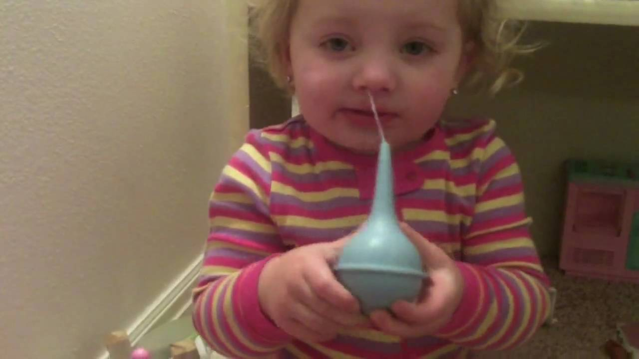 how to clear snot from babies npse