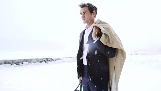 Roger Federer Shows You How to Dress for a Snow Day | GQ