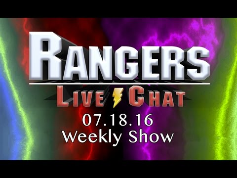 """Rangers Live Chat """"Group Chat"""" 7.18.2016"""