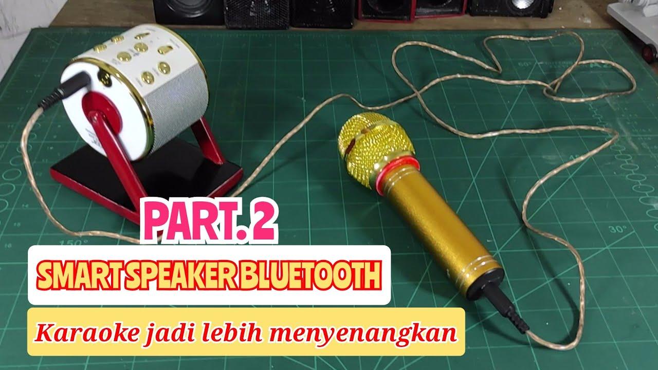 Tutorial pasang microphone di speaker bluetooth
