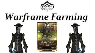 Warframe Farming - OUTDATED! Gaia's Tragedy (Corpus Comba & Scrambus)