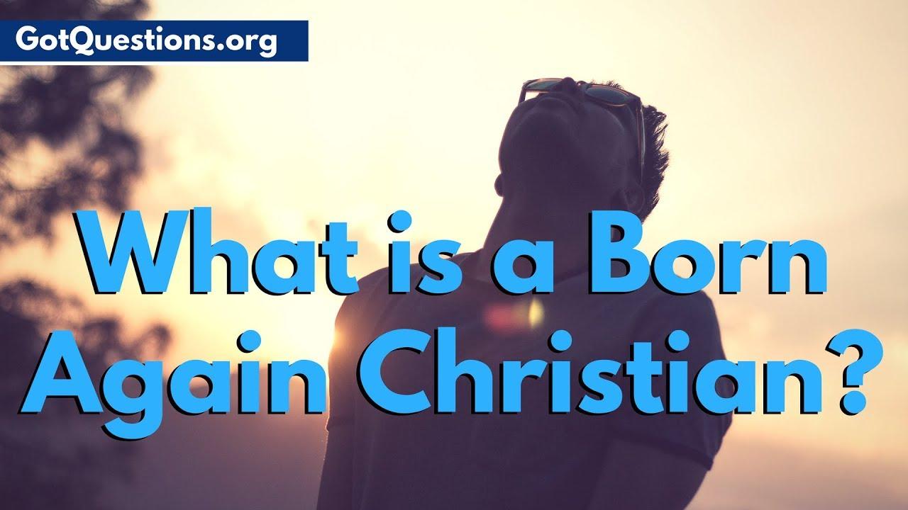Born again christian info