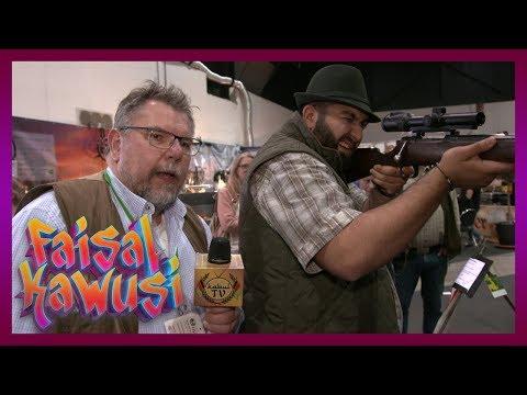 Faisal macht die Jagdmesse unsicher! Kabul TV | Faisal Kawusi Show