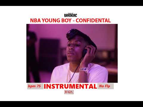 Youngboy nba - Confidential (Instrumental) BPM 75