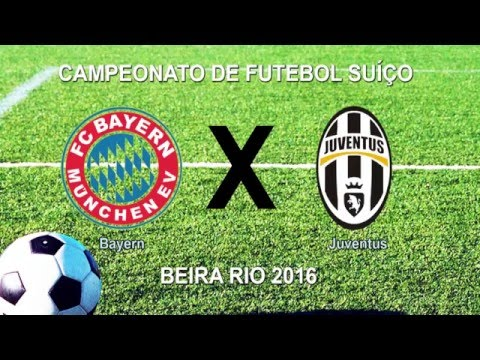 Camp Beira Rio 3ª RODADA - BAYERN 2 X 0 JUVENTUS