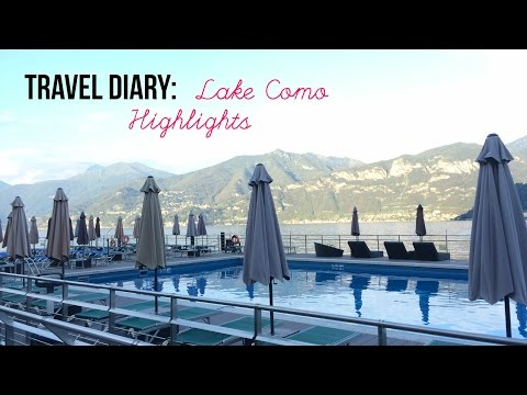 Travel Diary: Lake Como Highlights (featuring Swiss Alps)
