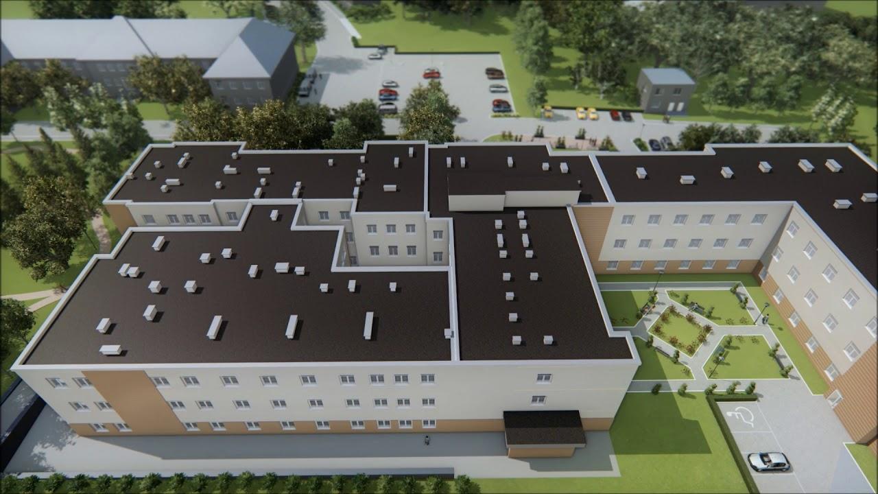 Szpital Na Wyspie - koncepcja rozbudowy