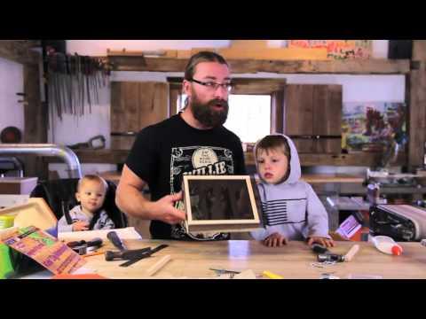 KidsDig Workshop - Mold and Deckle