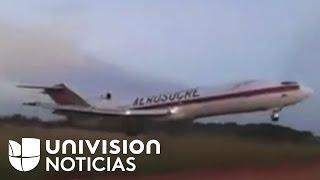 La tragedia del accidente del avión carguero en Colombia relatada en imágenes