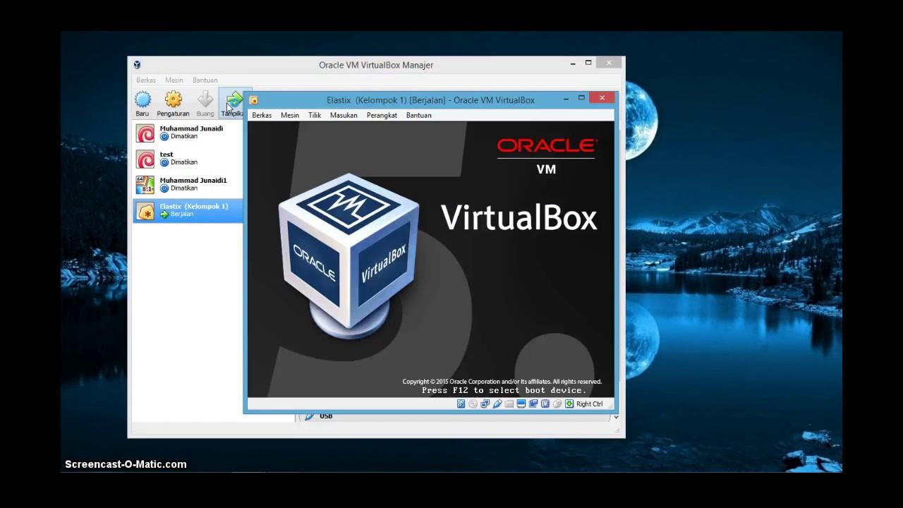 Konfigurasi Server Voip Menggunakan Linux Elastix Di Virtual Box