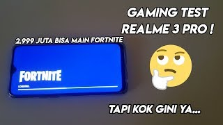 CAN PLAY FORTNITE! | GAMING TEST REALME 3 PRO! | Result?