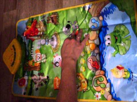 Music Sound Farm Animal Kids Baby Children Play Mat Carpet Playmat Gym Toy Free Shipping