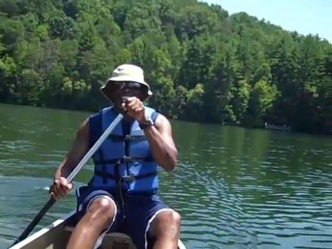 Canoeing at Unicoi State Park - Lanii Dennis Travels