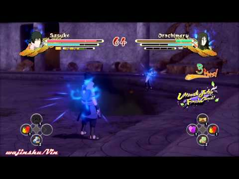 Repeat Naruto Ultimate Ninja Storm 3 EMS Sasuke vs