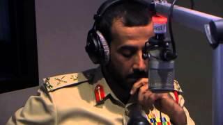 Q&A with Dubai Police Traffic Chief on Radio 2