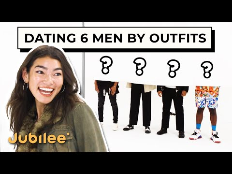 Blind Dating 6 Men Based on Their Outfits   Versus 1