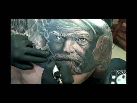 Cover up old tribal - new realistic viking theme video education