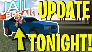 ROBLOX JAILBREAK UPDATE TONIGHT! *NEW* FALL MAP, CAR COLORS, SPOILERS, ETC.!