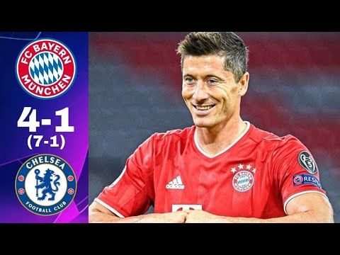 Bayern Munich 7 4 1 1 Chelsea Resume Buts Extended