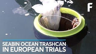 European Trials of the Seabin Have Begun