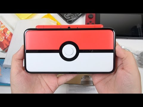 New 2DS XL Poké Ball Edition: Unboxing & Impressions
